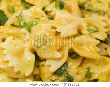 Pasta Collection - Farfalle With White Fish Souce