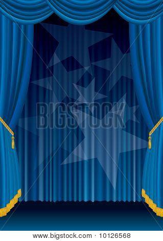 Blue Velvet Star Spots