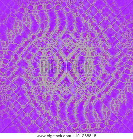 Seamless spiral pattern violet silver
