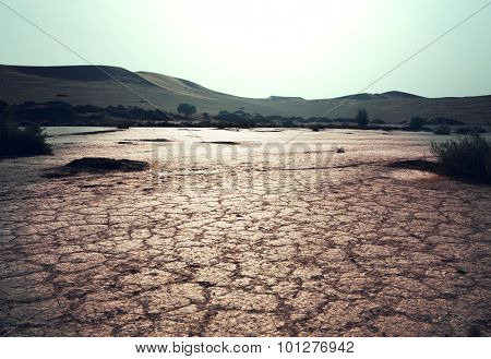 Drought land
