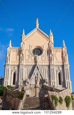 St Francesco Cathedral, Front View. Gaeta, Italy