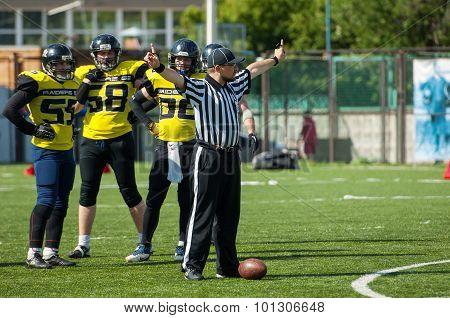 Referee Gesture