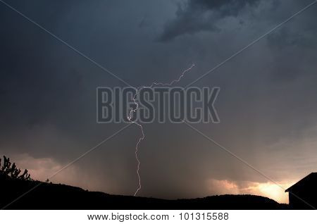 Lightning, Weather And Storms