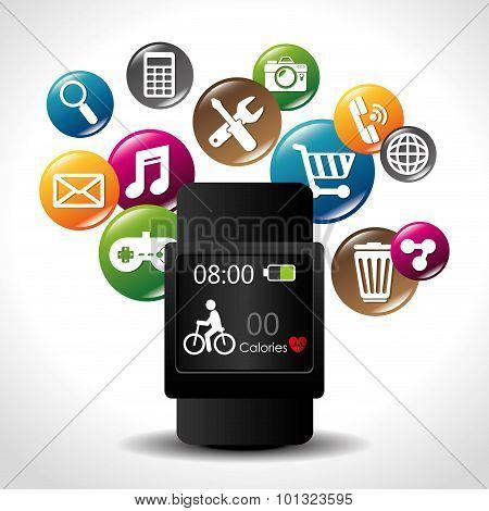 e-commerce and market mobile applications design.