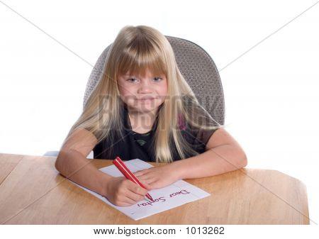 Dear Santa Letter Girl2