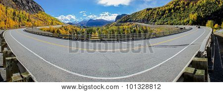 The Glenn Highway Crosses Caribou Creek