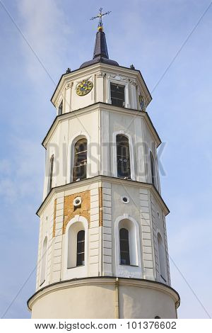 The Cathedral Of Vilnius Is The Main Roman Catholic Cathedral Of Lithuania. It Is Situated In Vilniu