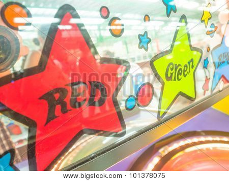 Red And Green Stars