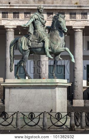 Statue Of Ferdinand Iv Of Naples