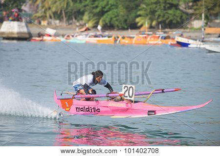 Bancarera Race In The Philippines