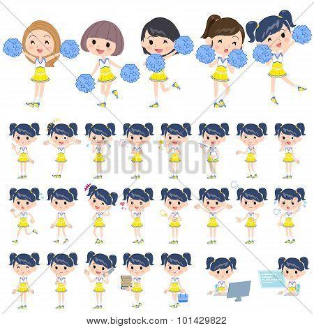 Yellow Cheerleader