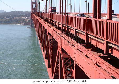 Goden GAte Bridge Stock photo
