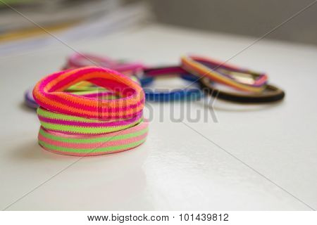 Colorful Scrunchy