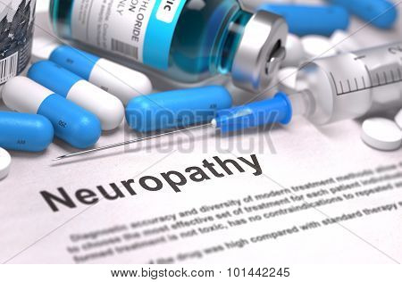 Neuropathy Diagnosis. Medical Concept.