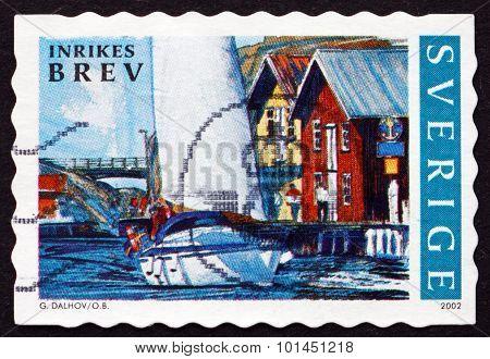 Postage Stamp Sweden 2002 Summer In Bohuslan