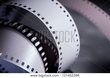 Negative 35 Mm Film. Photographic Film.
