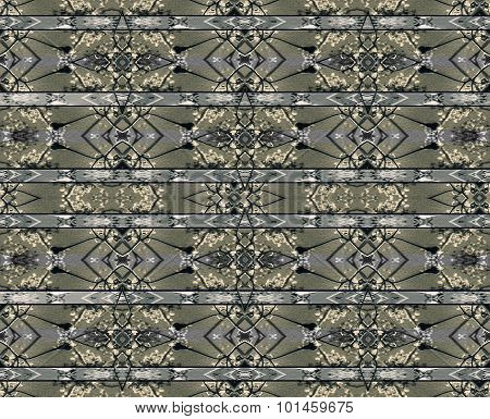 Stripe Modern Baroque Seamless Pattern