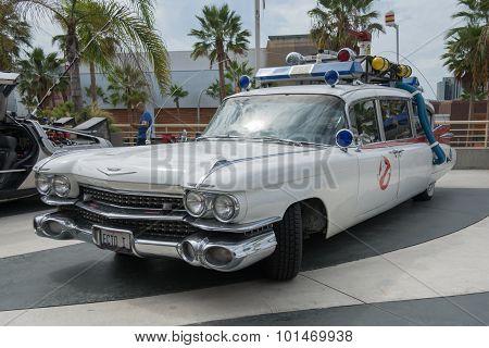Ghostbusters Car On Display