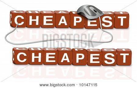 Cheap Cheaper Cheapest Bairgain Promotion  Offer