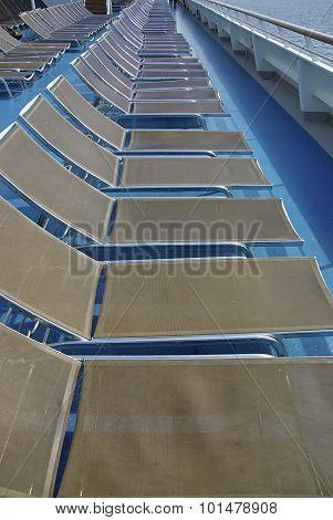 Cruisehip Deck Chairs