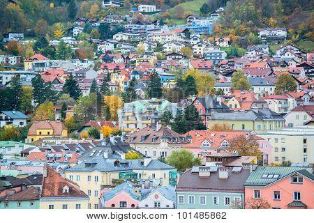 Innsbruck Austria - architecture and nature background