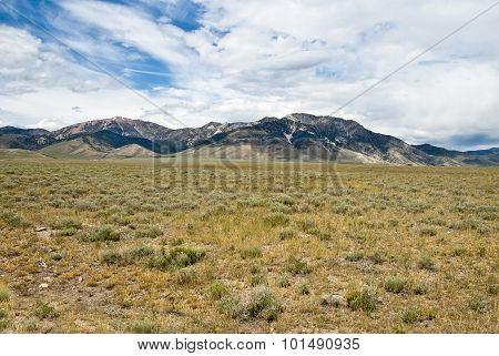 Lemhi Mountains And Pahsimeroi Valley