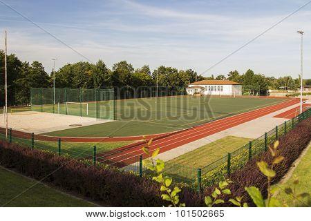 Areal Of The Sportschule In Werdau, Germany, 2015