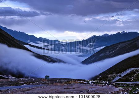 Seas of clouds
