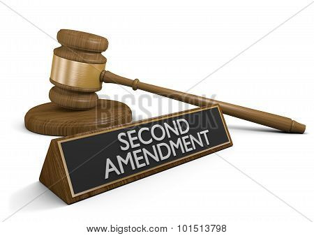 Legal challenge to the Second Amendment right to keep and bear arms