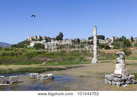 Temple of Artemis. Selcuk. Turkey.