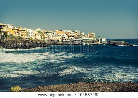 Los Abrigos, Fishing Village In Granadilla De Abona, Tenerife