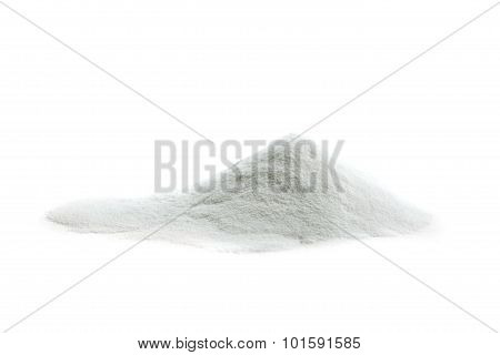 Hyaluronic acid also known as hyaluronan, hyaluronate, isolated on white poster