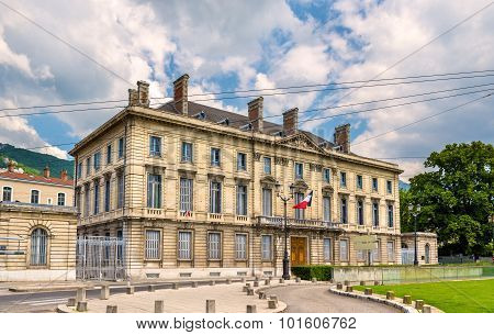 Building On Place De Verdun In Grenoble - France