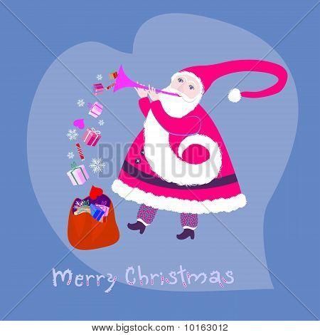 Santa Klaus.