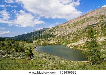 Summer Mountain Landscape: Deep Cold Tarn