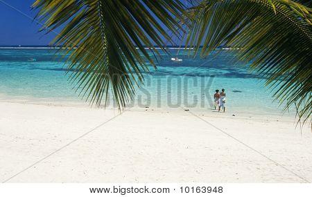Trou Aux Biches Beach Mauritius Island