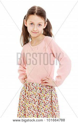 charming little ballerina