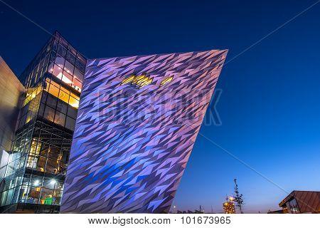 Titanic visitor centre, Belfast, Northern Ireland