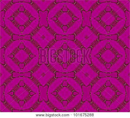 Seamless circles pattern violet