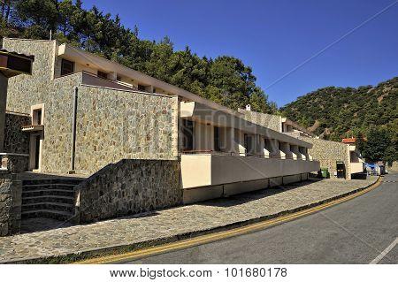 Free Hotel for pilgrims at the monastery Kykkos