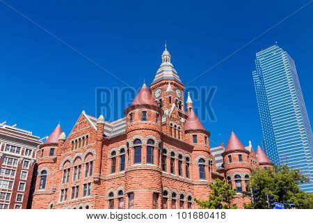 The Dallas County Courthouse Also Known As The Old Red Museum