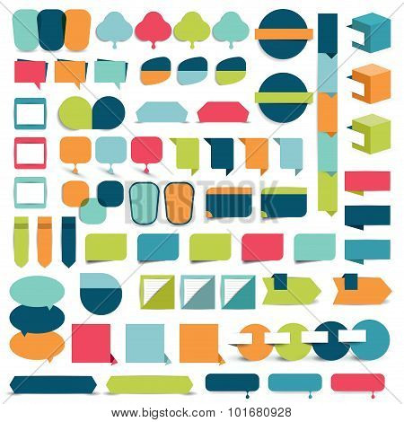 Infographics Flat Design Elements.