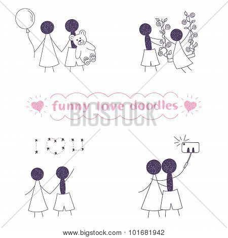 Funny Love Doodles