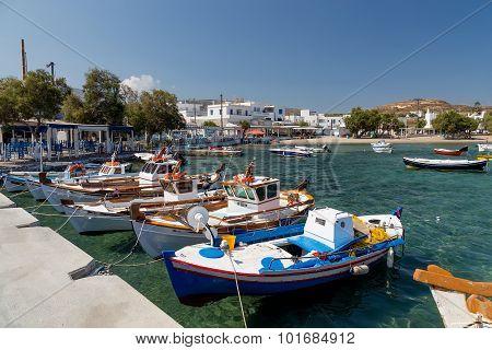 Pollonia village, Milos island, Cyclades, Greece