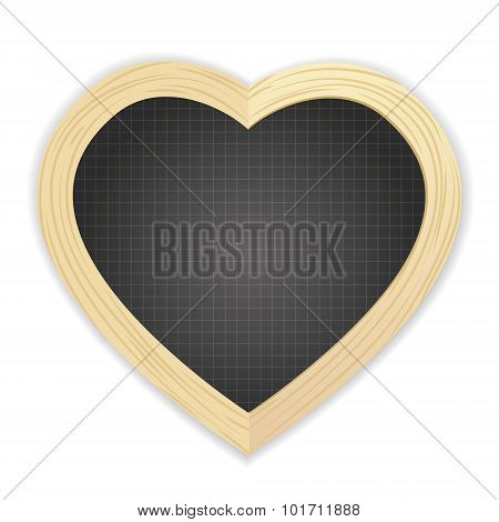 Heart Shapped Slate