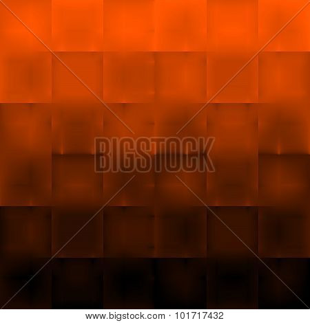Abstract Background with Orange and Black