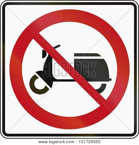 No Mopeds In Canada