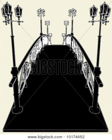 Arch Bridge Vector