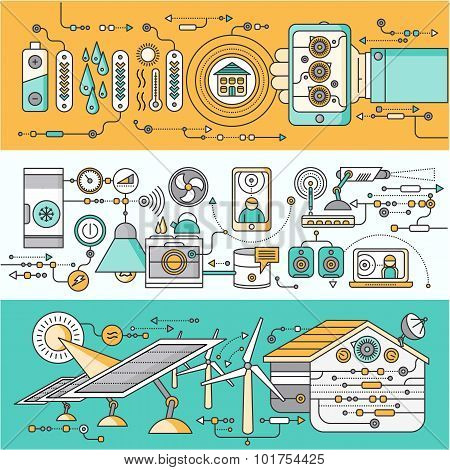 Concept of Smart Home and Control Device