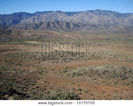 Barren Desert Mountains